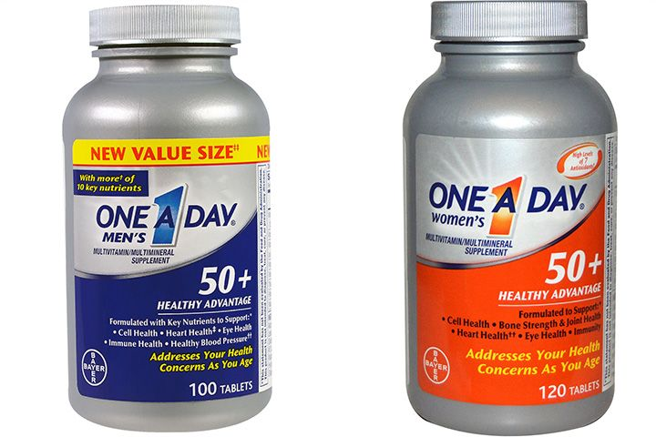 vitaminas para el adulto mayor