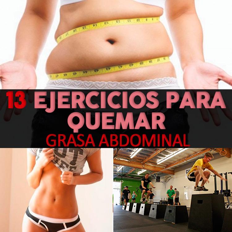 Los mejores ejercicios para quemar grasa del abdomen