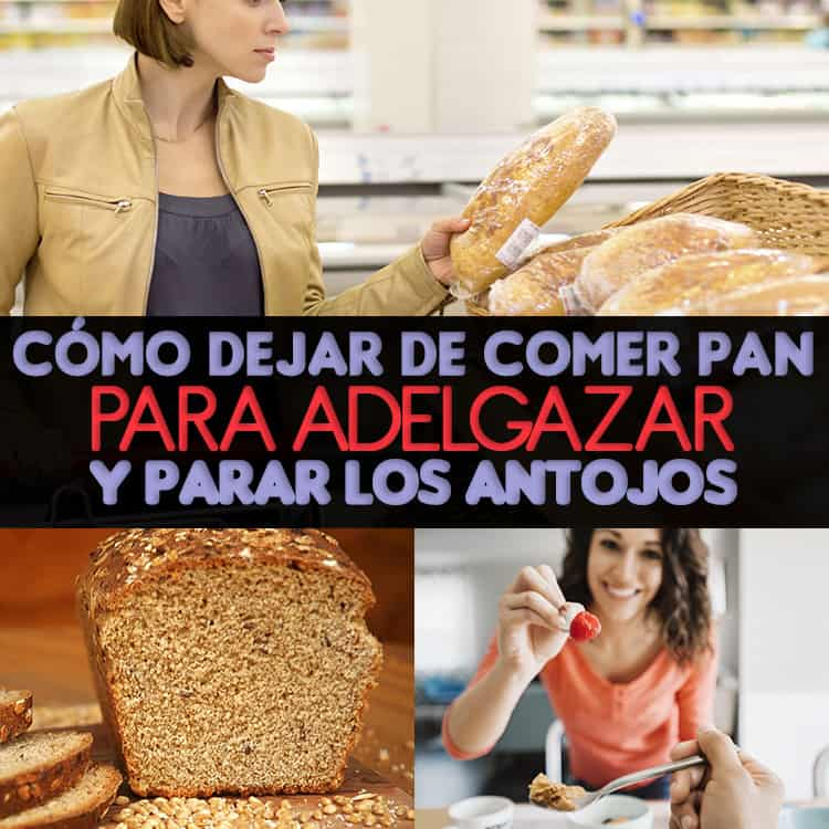 Como reemplazar el pan para adelgazar
