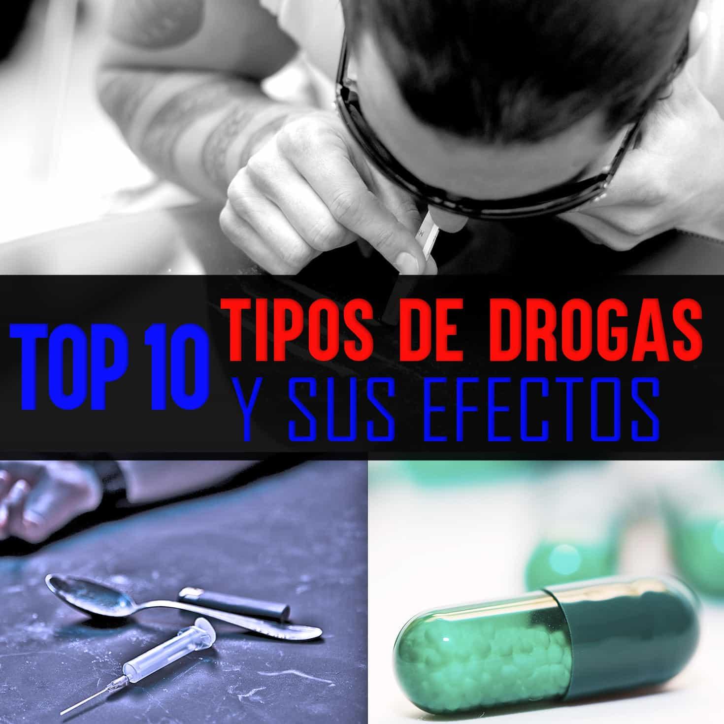 Los top 10 tipos de drogas más consumidas en el mundo y sus