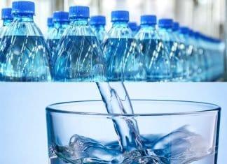 El agua mineral es buena para bajar de peso