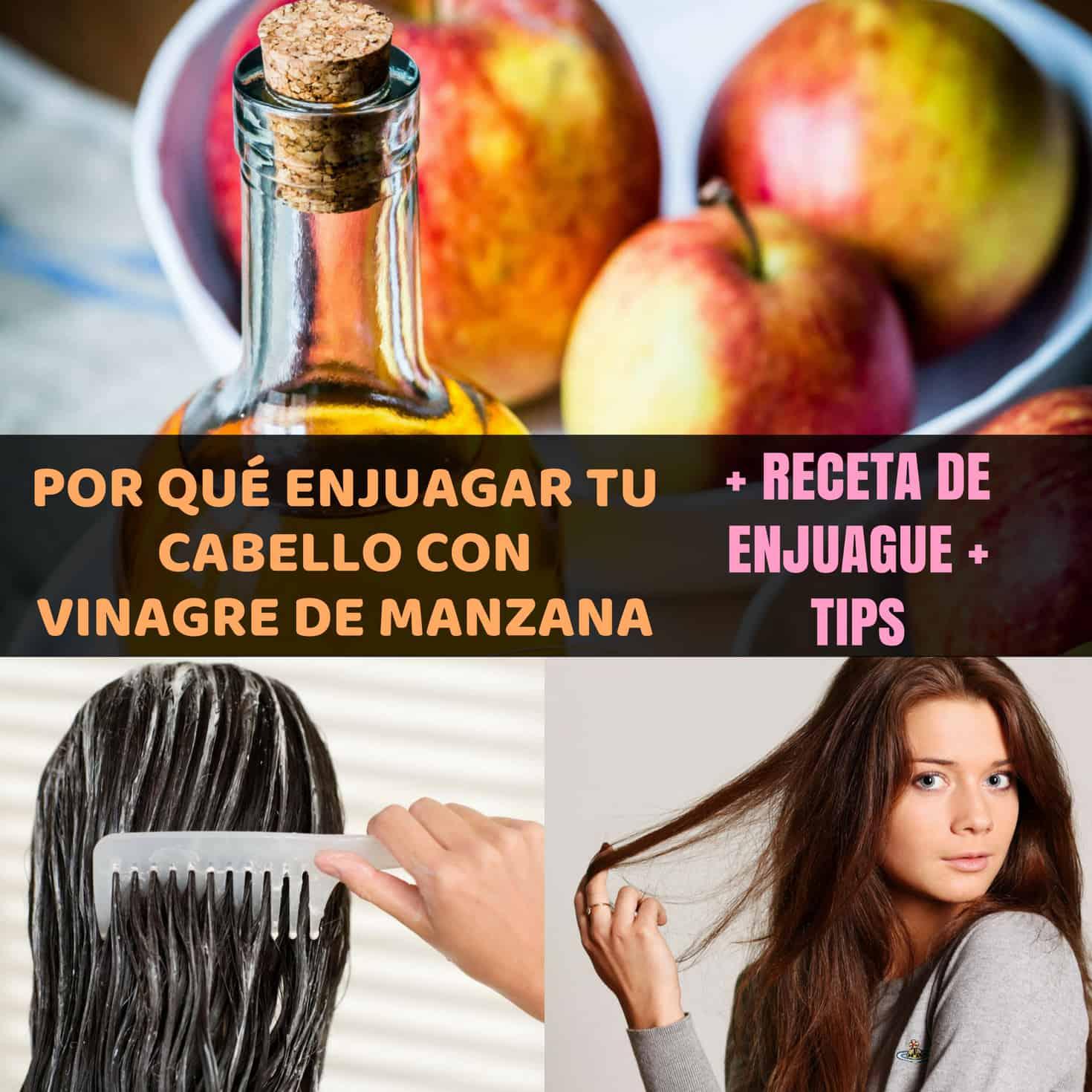 Vinagre de manzana para cabello rubio