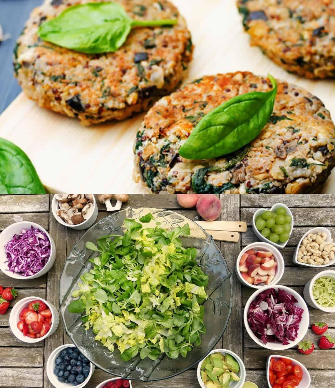 Plan de 7 días para adelgazar con la dieta vegana de 1200..