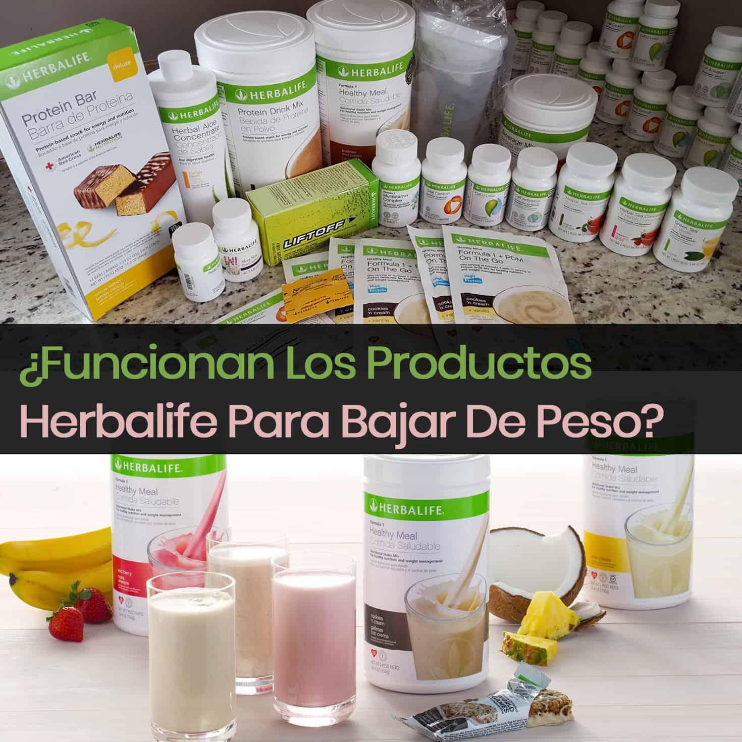 Herbalife es bueno para bajar de peso