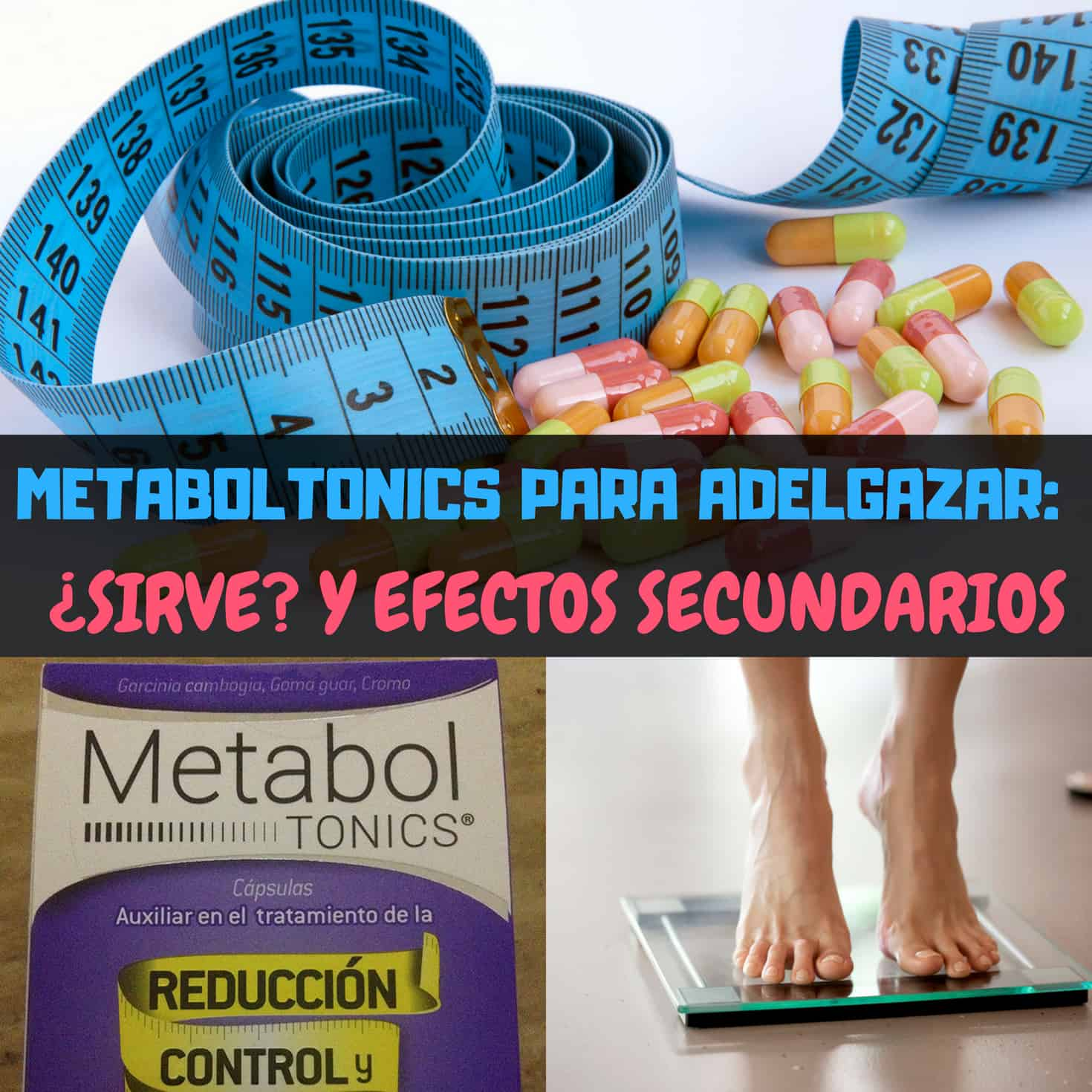 Metaboltonics sirve para bajar de peso