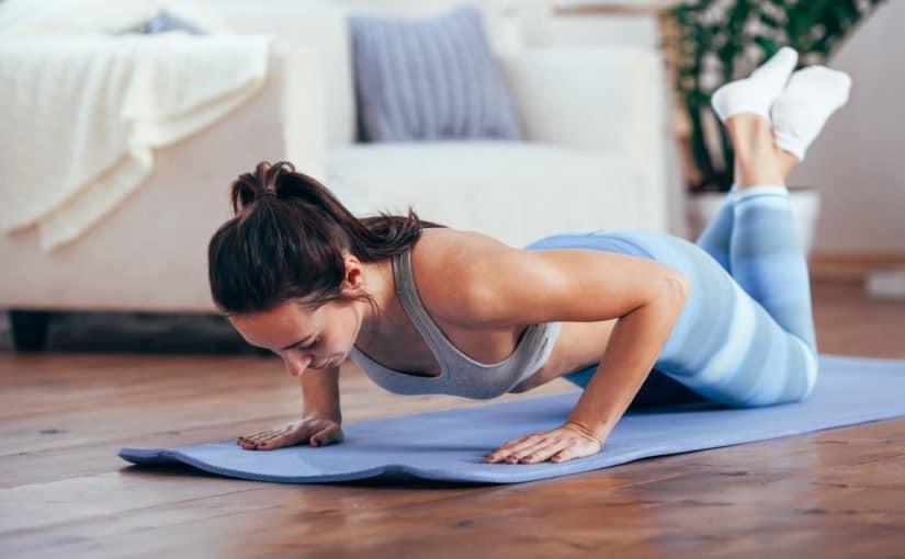 Flexiones de yoga